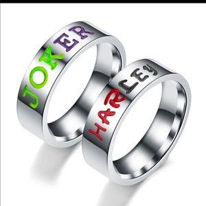 JOKER HARLEY Couple Ring